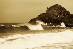岩と波と風の物語り