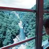 車窓・・・第一白川橋梁から望む.