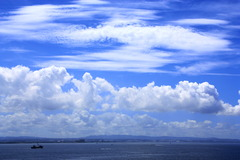 雲の共演♪