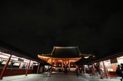 夜 〜浅草寺〜