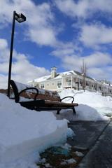 積雪30cm