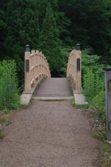 七滝へわたる橋