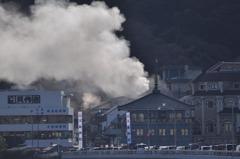江の島 火事