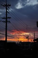 日がまた沈む
