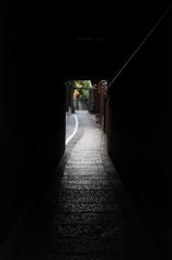 京都旅行(石塀小路)