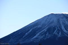 明けの富士
