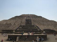 The Sun Pyramid in Mexico