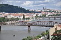 プラハ城 遠景