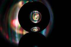 ORB3×Acrylic ball 02/light painting