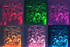 6 Colors / LED light