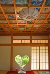 猪目窓と天井画