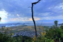 近江八幡 琵琶湖方面