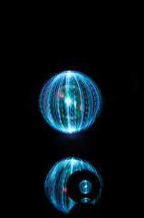 ORB3×Acrylic ball/light painting