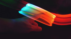 LED Rainbow 01/ light painting