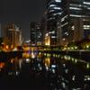 大阪夜景 淀屋橋駅付近 01