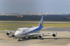ANA B747-400D