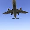 飛行機と宍道湖