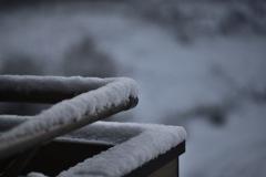 積雪3cm