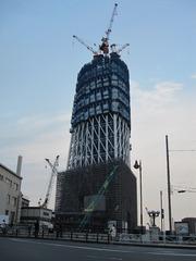 東京スカイツリー建設中②