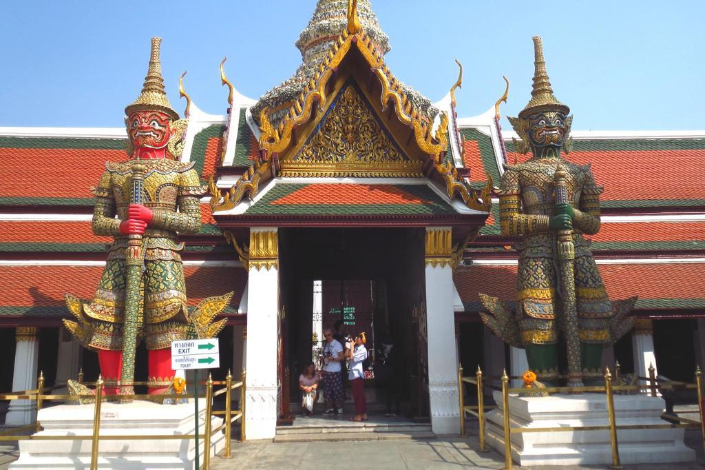 Wat Phra Kaew and Grand Palace Bangkok.