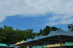 青空テント