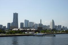 大さん橋より横濱
