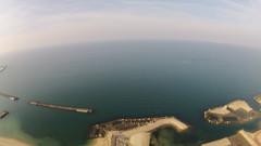 空から海へ