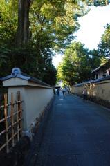 石畳の京都道
