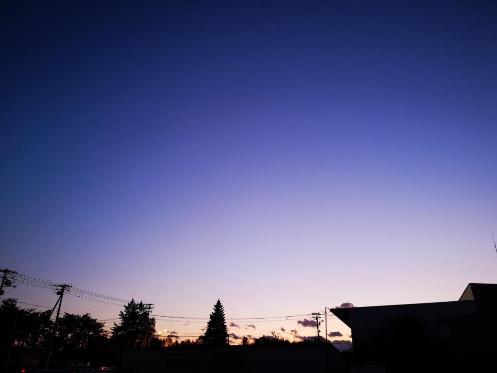 夕暮れグラデーション