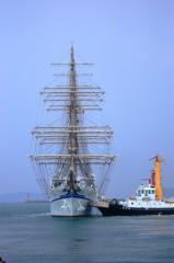 日本丸出航