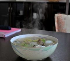 夕飯のスープ