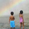 虹のほうへ行こうヨ