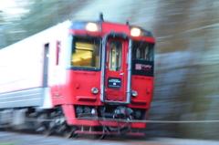 赤い電車2