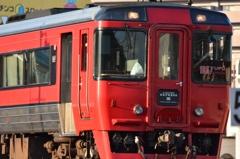 赤い電車1
