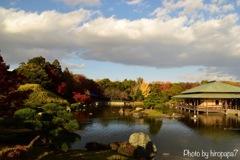 庭園の秋①