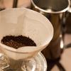 「挽きたて」 コーヒー