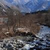 早月川と剱岳