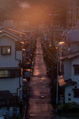 夕焼けの町 2
