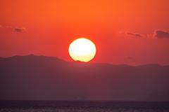 夕陽に向かって 4