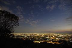夕景から夜景3