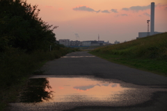 摂津の夕日2