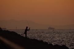 10月25日sunset 3