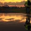 雨上がりの夕焼け 1
