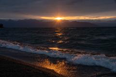 光射す琵琶湖 3