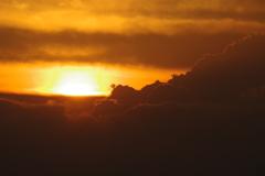 夏の終わり3 夕焼け雲