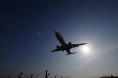 大阪国際空港 着陸1