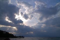 春風の琵琶湖1