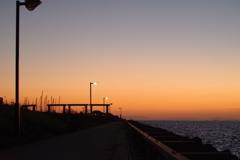 10月25日sunset 4