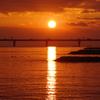 沈む夕日 3