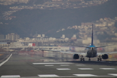 大阪国際空港 離陸